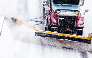 commercial snow plowing acton ma